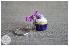 Paarse xl cupcake #2