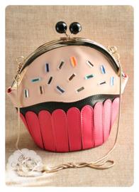 Glamour cupcake tas