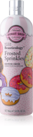 Frosted sprinkles donut douche gel