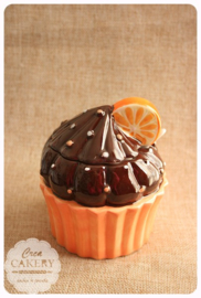 Suikerpot - Cupcake Sinaasappel