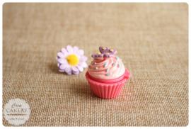 Cupcake lipgloss vlinder