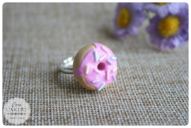 Donut ring roze