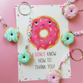 """"""" I Donut know how to thank you"""" kaart"""