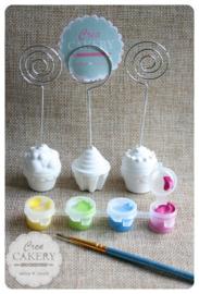 DIY Cupcake memohouder