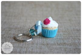 Blauwe xl cupcake #3