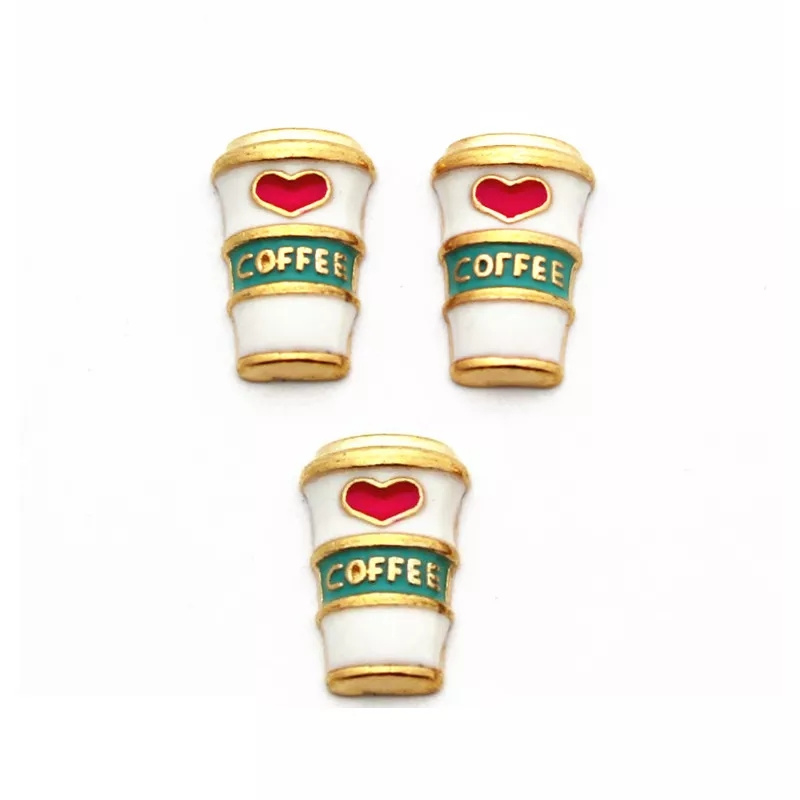 Koffie beker goud
