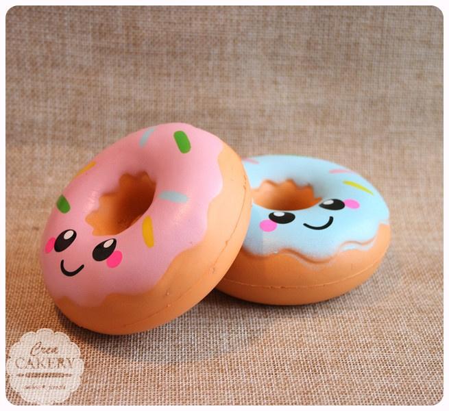 Squishy donut - blue