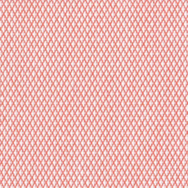 Agora Diamante Coral 1418 buitenstof per meter, stof voor tuinkussens, terraskussens, palletkussens, plofkussens, zitzakken waterafstotend, kleurecht