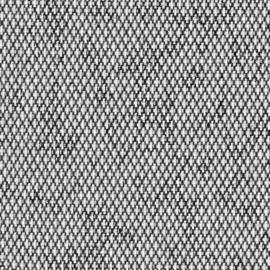 Agora Diamante Pirita  1417 zwart  wit  buitenstof per meter, stof voor tuinkussens, terraskussens, palletkussens, plofkussens, zitzakken waterafstotend, kleurecht