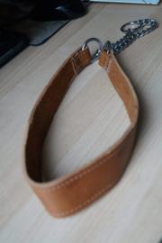 Echt leren halsband