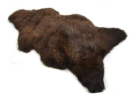 schapenvacht groot ecologisch gelooid 110 x 65 cm