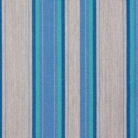 Agora Abaco Sea 3956 buitenstof per meter, stof voor tuinkussens, terraskussens, palletkussens, plofkussens, zitzakken waterafstotend, kleurecht