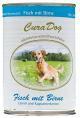 Bio-hondenvoeding Reico Vis met peer en  met lijnzaadolie, Oost-Indische kers