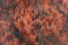 kussen velvet carrara rood
