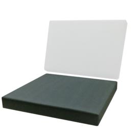 palletkussen strak Sunbrella Mineral blue chiné  3793