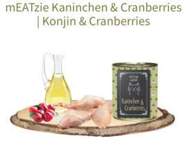 mEATzie konijn en cranberries Reico