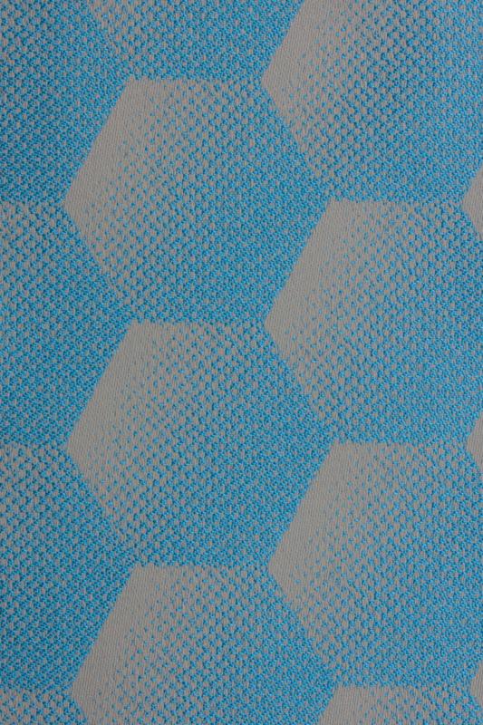 Sunbrella Hexagon Azure j124