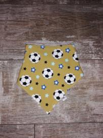 Voetbal okergeel