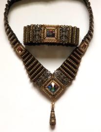 Corrugated Filigree Bracelet