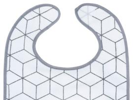 Slab Waterproof Klittenband Graphic Grey (2pack)