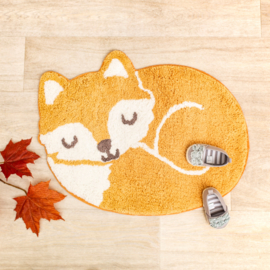 Kinderkamer vloerkleed Sleeping Fox