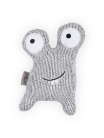 Knuffel Confetti Monster Grey