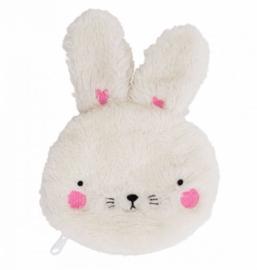 Portemonnee Fluffy Bunny A Little Lovely Company