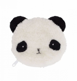 Portemonnee Fluffy Panda A Little Lovely Company