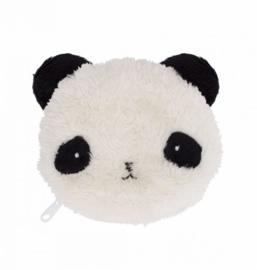 Portemonnee Fluffy Panda A Little Lovely Company