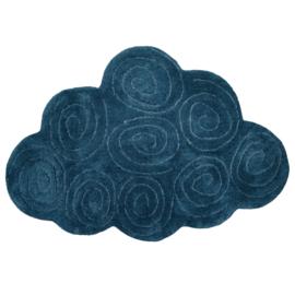 Vloerkleed Kinderkamer Cloudy Blue