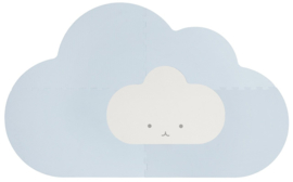 Speelmat Kinderkamer Head in the Clouds Dusty Blue