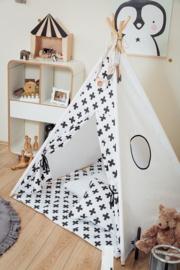 Tipi Tent / Speeltent Kinderkamer Monochrome Crosses