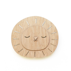 Wandlamp Kinderkamer Bamboo Lion Sam Ted & Tone
