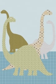 Inke XL Muurprints Behang Dino 103