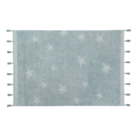 Vloerkleed Kinderkamer Hippy Stars Blue