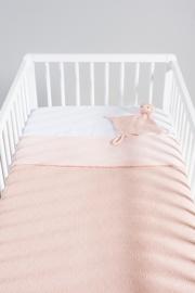 Knuffeldoekje Soft Knit Hippo Creamy Peach Jollein