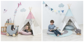 Tipi tenten en speeltenten Kinderkamer