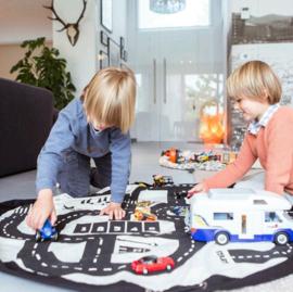 "Play & Go Opbergzak en Speelgoedkleed ""Roadmap"""