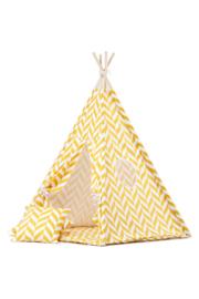 Tipi tent / Speeltent Kinderkamer Herringbone Okergeel