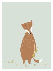 Poster Kinderkamer Mr Fox