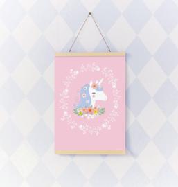Poster Kinderkamer Lovely Eenhoorn A Little Lovely Company
