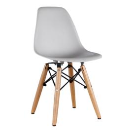Kinderstoel Eames Licht Grijs