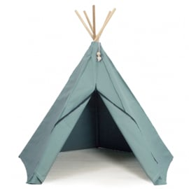 Hippie Tipi Tent / Speeltent Sea green van Roommate