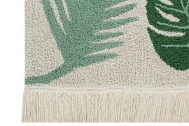 Vloerkleed Kinderkamer Tropical Green