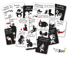 Milestone Cards van Me, You & The Zoo