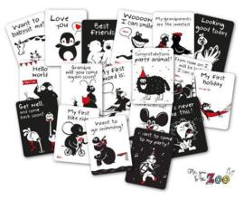 Milestone Cards van Me, You & The Zoo