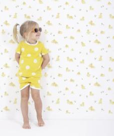 Behang Kinderkamer Yellow Ducks Lilipinso