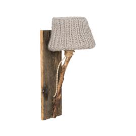 "Kinderkamer Wandlamp hout ""Beige"""