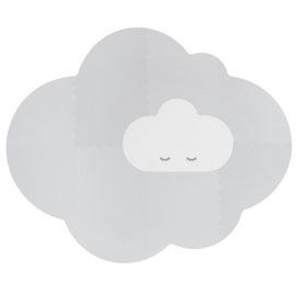 Speelmat Kinderkamer Head in the Clouds L Grey