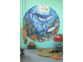 Behangcirkel Kinderkamer Diepzee Droom